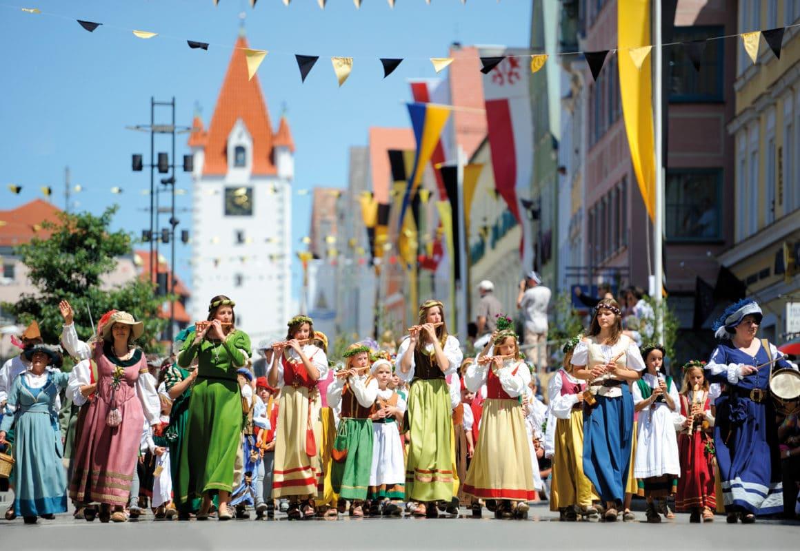 Mindelheim Frundsbergfest Festumzug