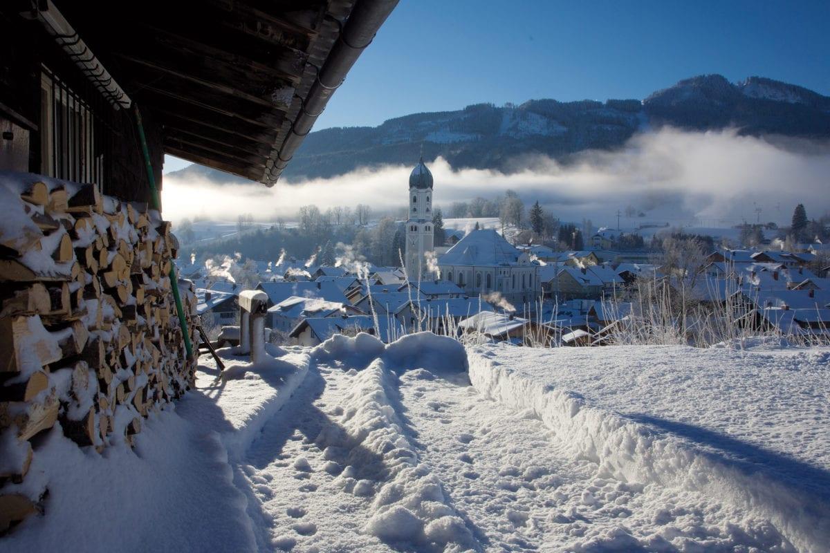 Nesselwang Winter