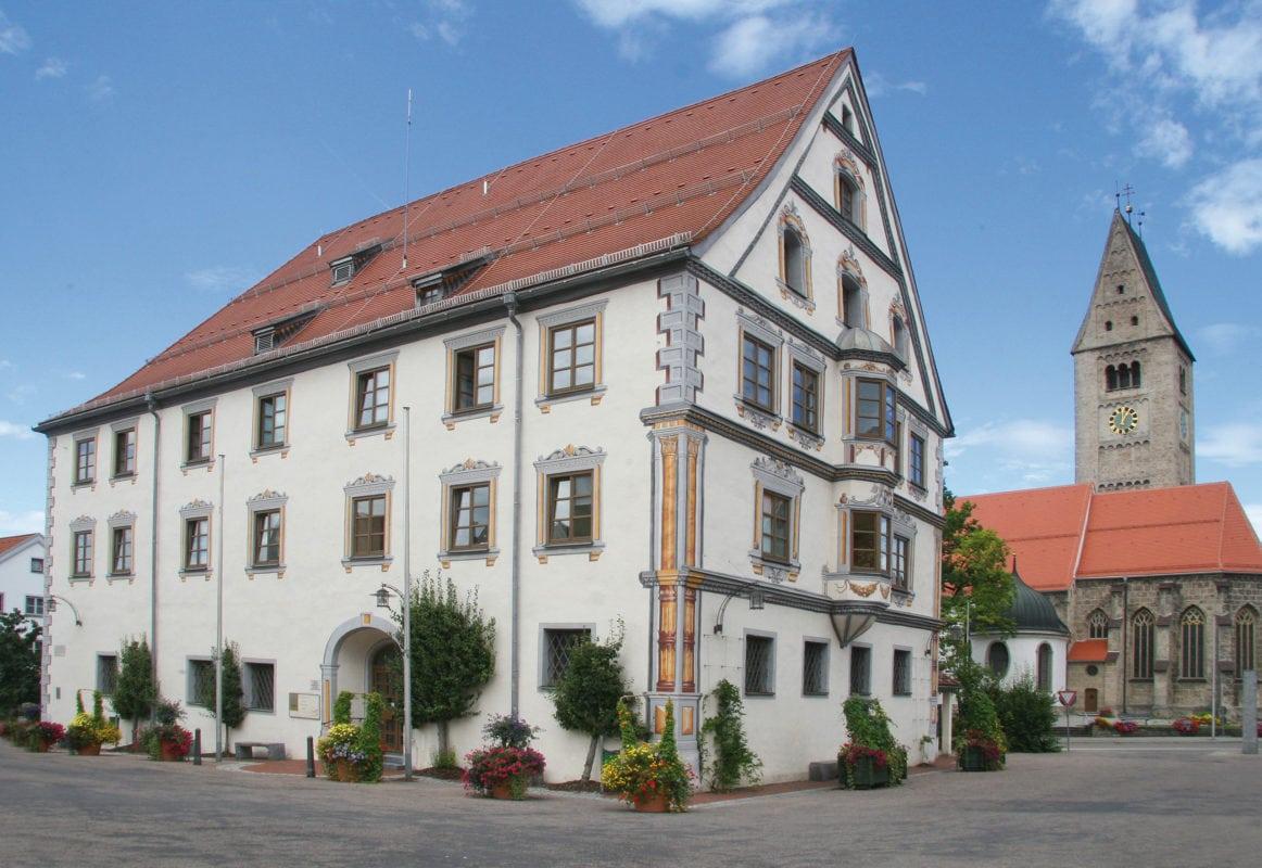 Obergünzburg Marktplatz