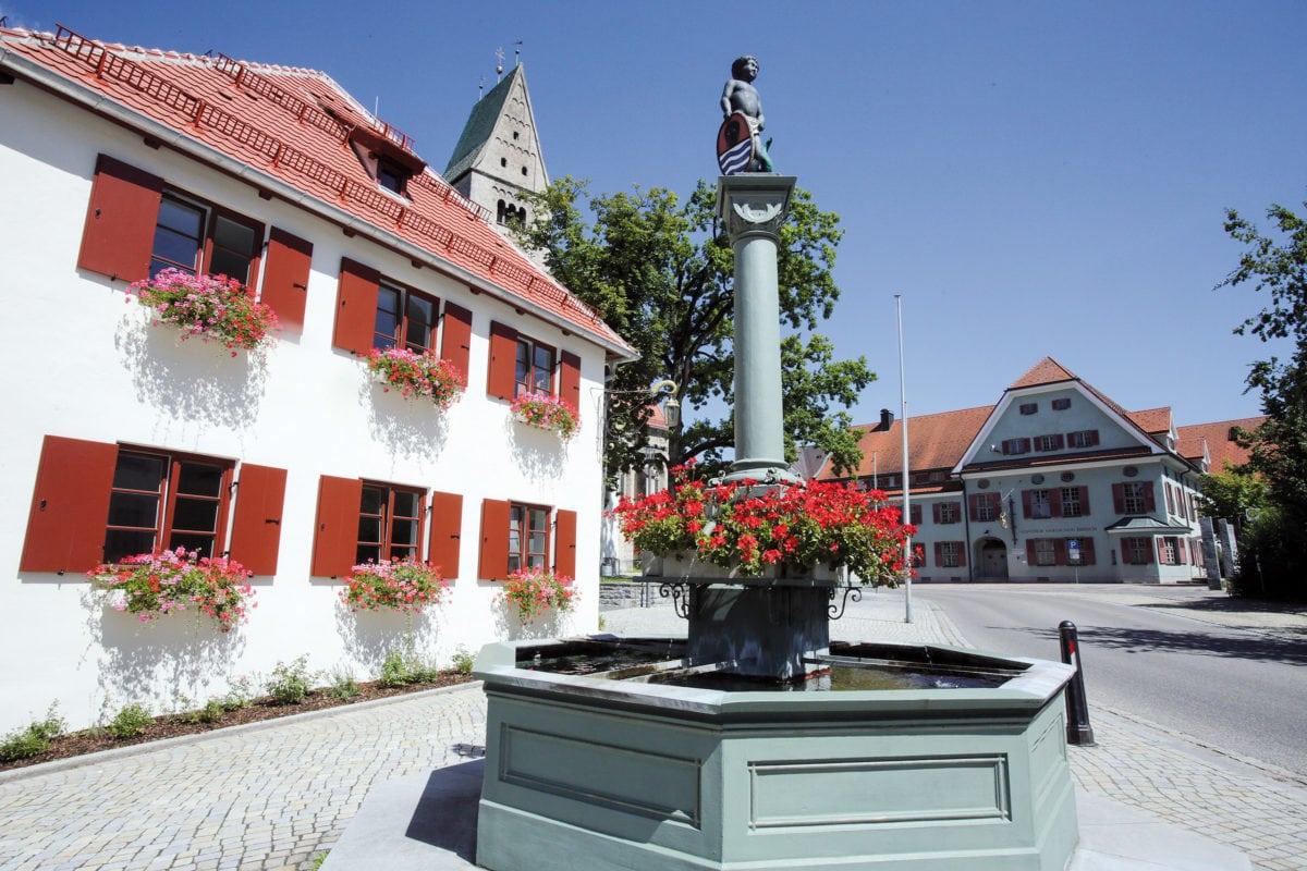 Obergünzburg Ortszentrum