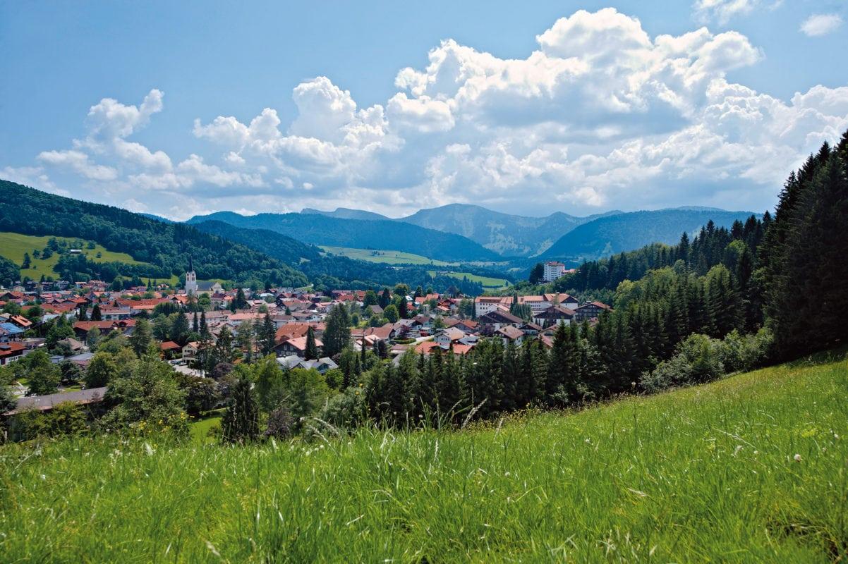 Oberstaufen Panorama