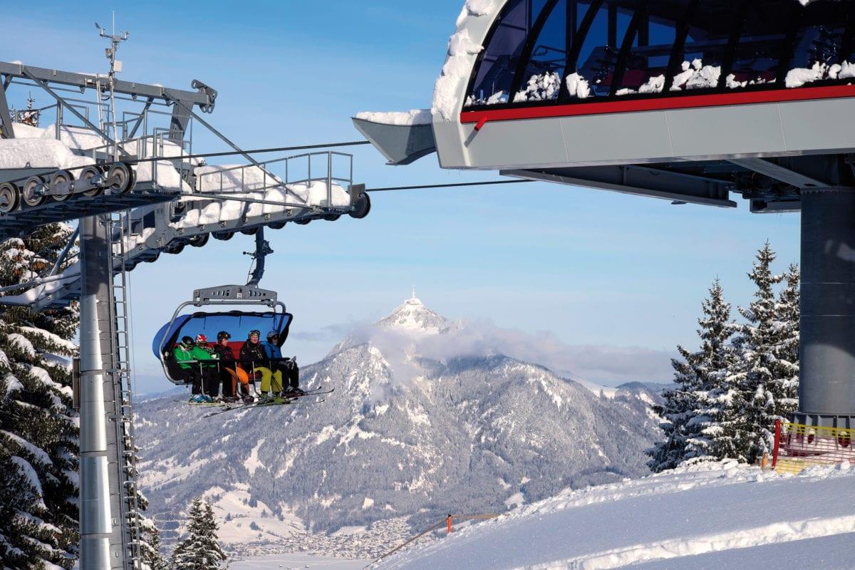 Ofterschwang Winter Skigebiet