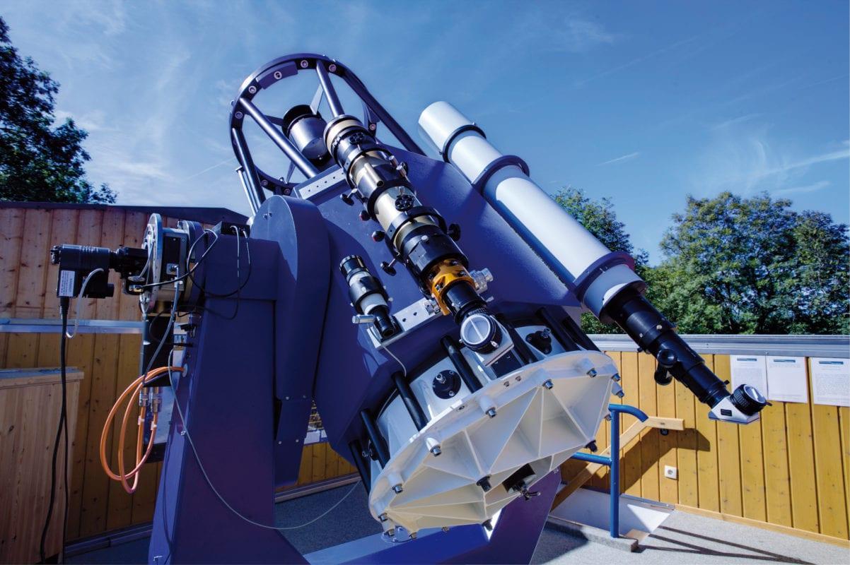 Ottobeuren Allgäuer Volkssternwarte Teleskop