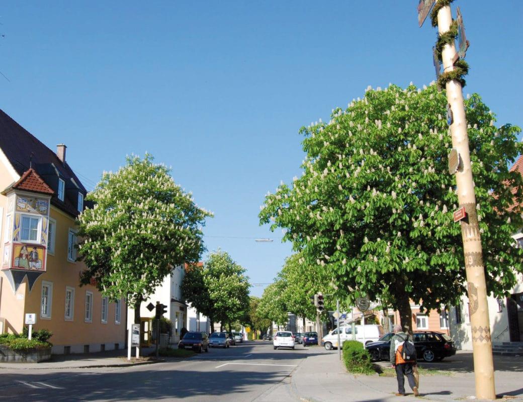 Pfaffenhausen Ortszentrum
