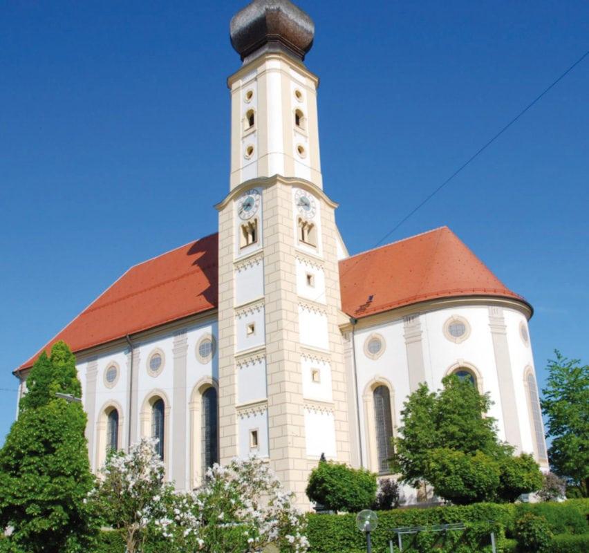 Pfaffenhausen Pfarrkirche St. Stephan