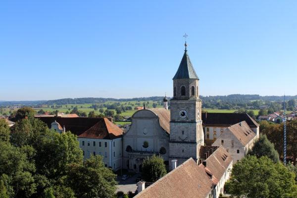 Kloster Heilig Kreuz und Stiftskirche (Polling)