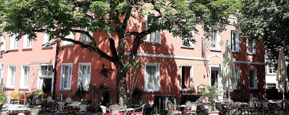 Restaurant Am Kreuzplatz Wangen Terrasse