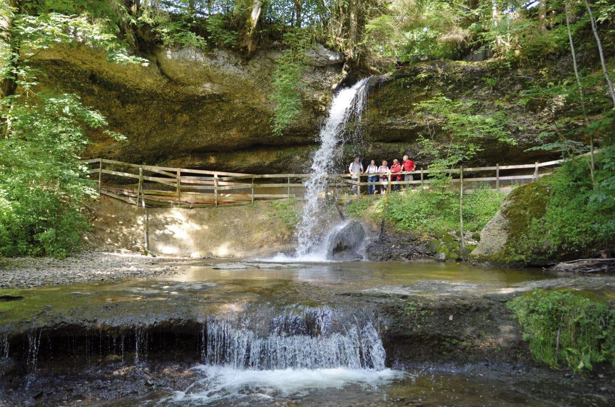 Scheidegg Wasserfall