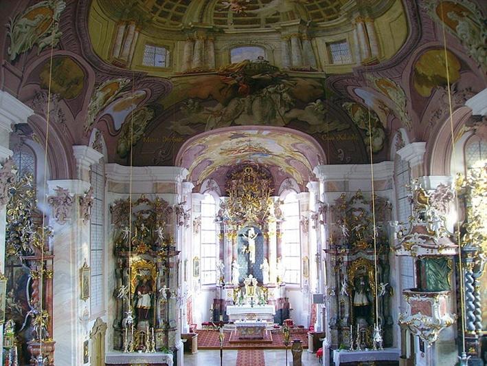 Stöttwang Pfarrkirche St. Gordian und Epimach