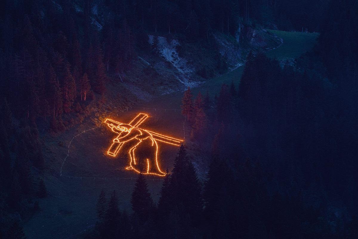 Tannheimer Tal Herz-Jesu-Feuer