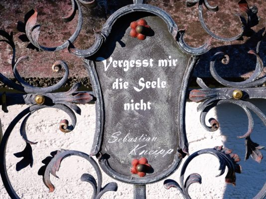 Sebastian Kneipp Gedenktafel