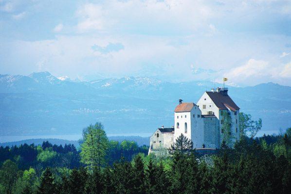 Waldburg vom Fernmeldeturm