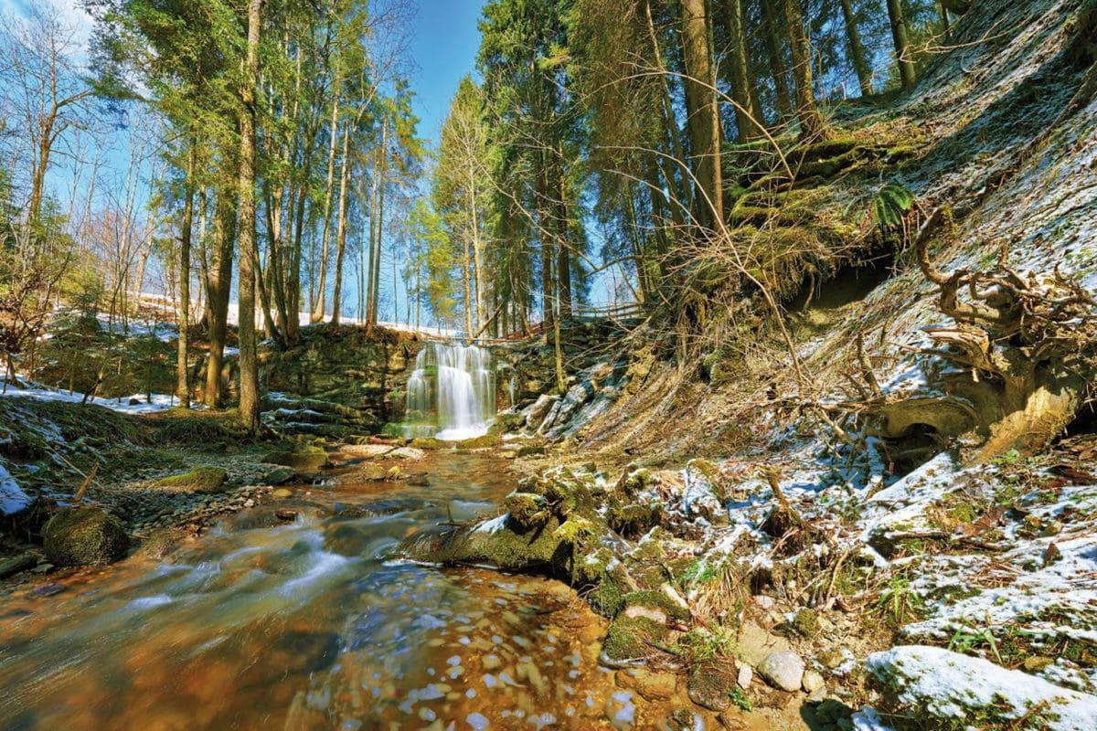 Weitnau Speckbach Wasserfall