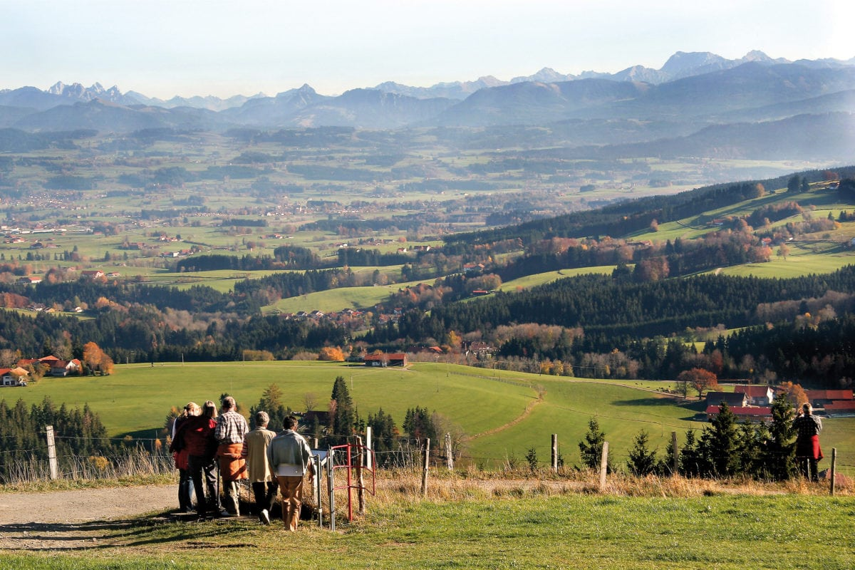 Wiggensbach Blender Aussicht