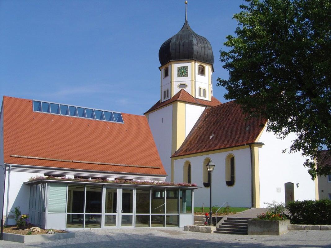 Kirche St. Martin und Zehntstadel (Ziertheim)